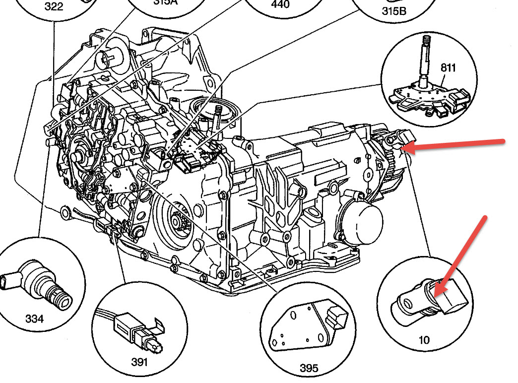 Vehicle Speed Sensor 70823522 on 2004 Trailblazer Wiring Diagram