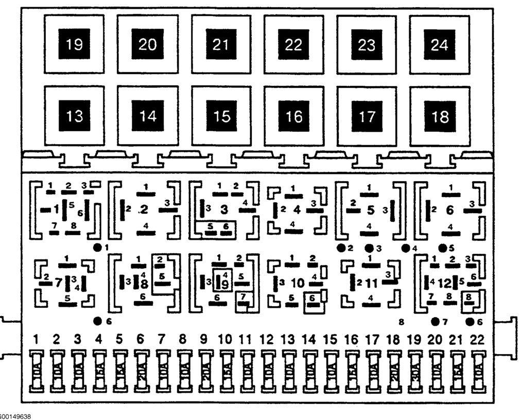 Fuse Panel Diagram: I Do Not Have a Cover for My Fuse Box, ... | 1997 Vw Jetta Fuse Diagram |  | 2CarPros