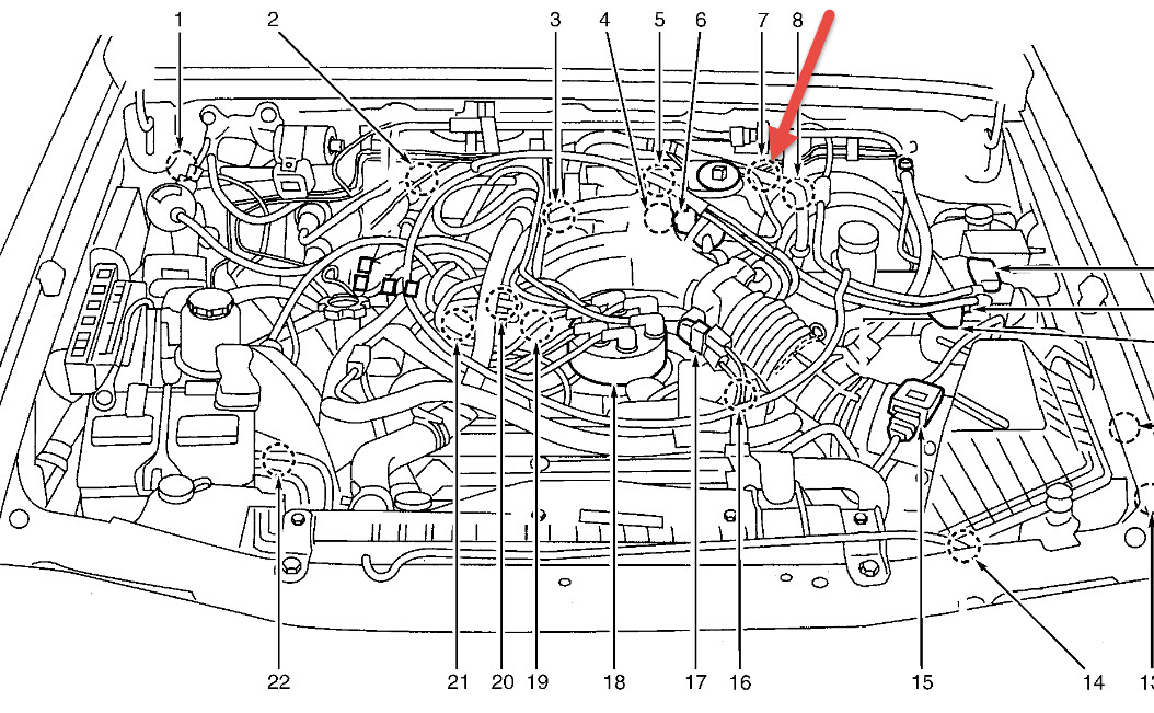Crankshaft Sensor Location I Have Been Looking For The