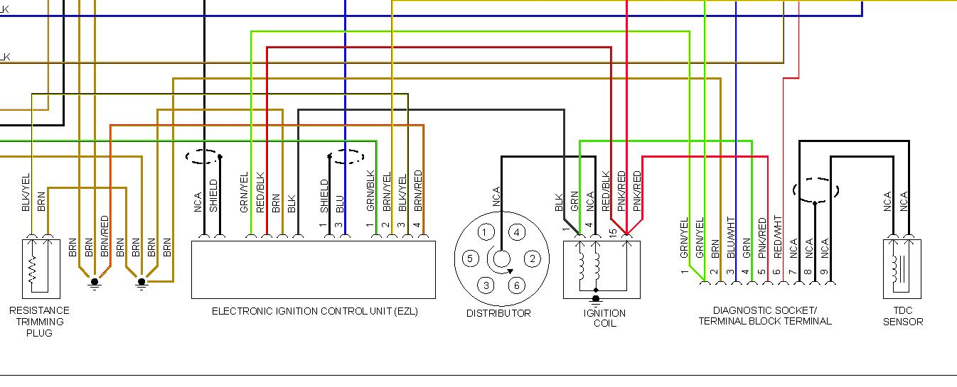 Need Wiring Diagram for Ignition Module to Match Colored Wires to ...