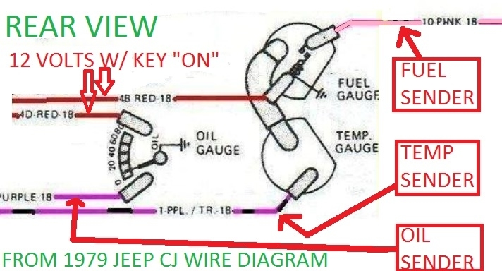 Cj7 Temp Gauge Wiring Diagram - Wiring Diagram