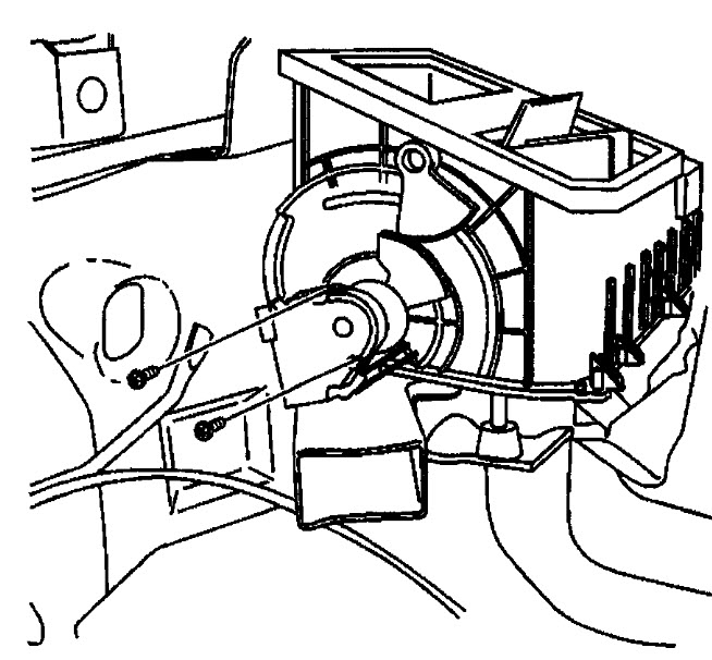 blend door actuator replacement mode i noticed that the air is Chevy Front Suspension Diagram thumb