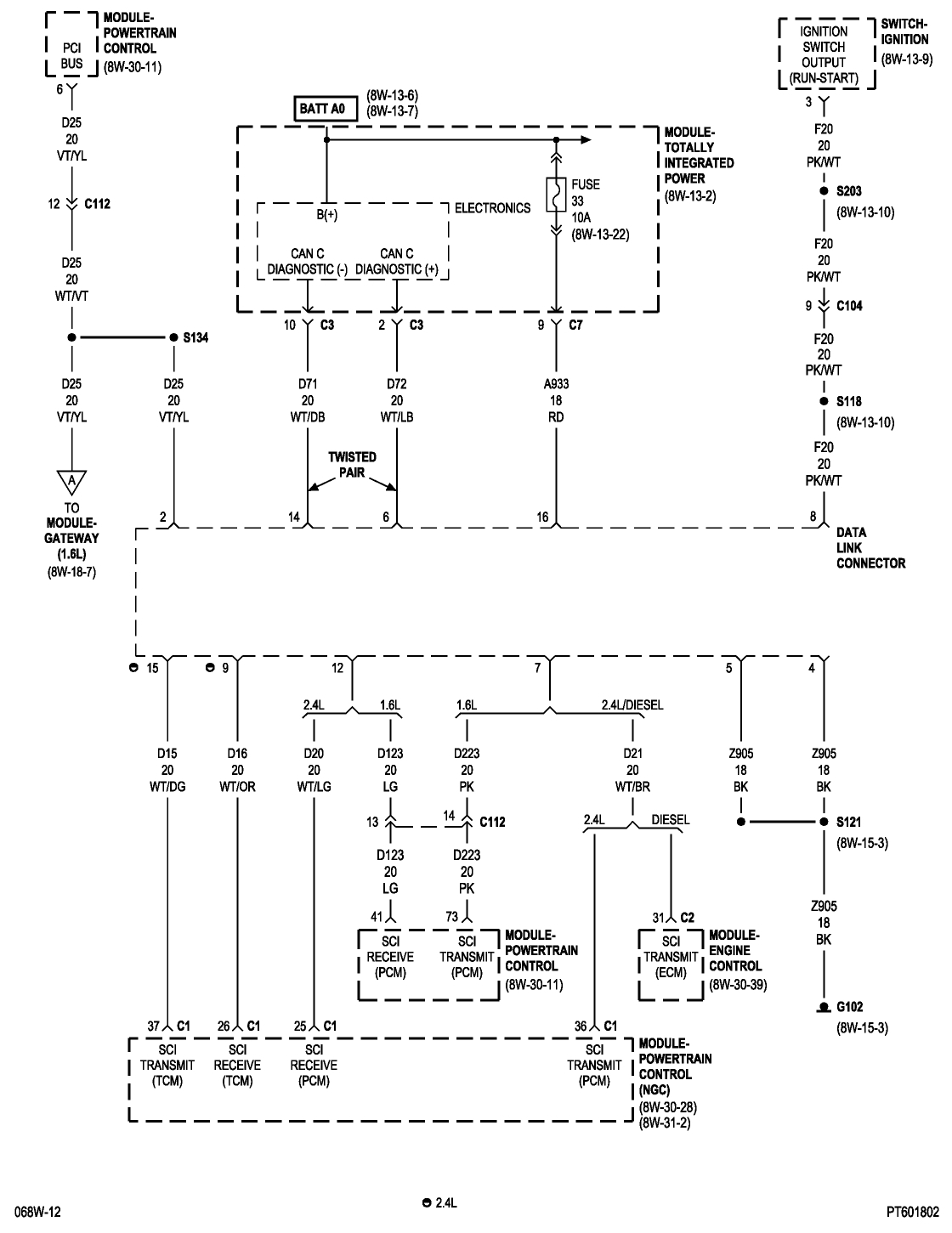 CAN Bus Location: Where Is Location of the CAN Bus? I Had ...  Pt Cruiser Wiring Diagram Obd Port on