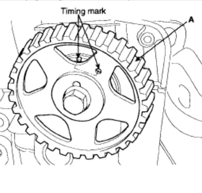 Timing Belt Just Need To Know How The Timing Marks Need To Be So