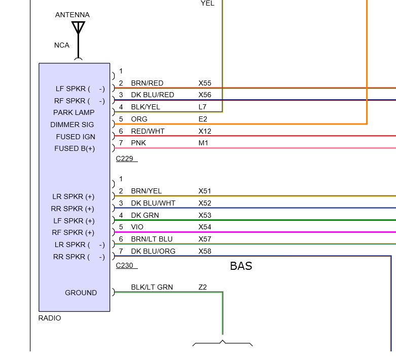 2006 Dodge Ram Radio Wiring Diagram from www.2carpros.com