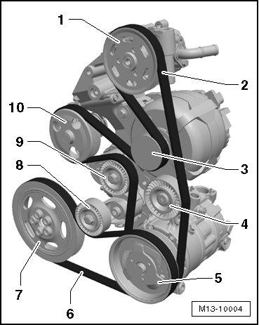 Need the Belt Diagram for the Serpentine Belt2CarPros