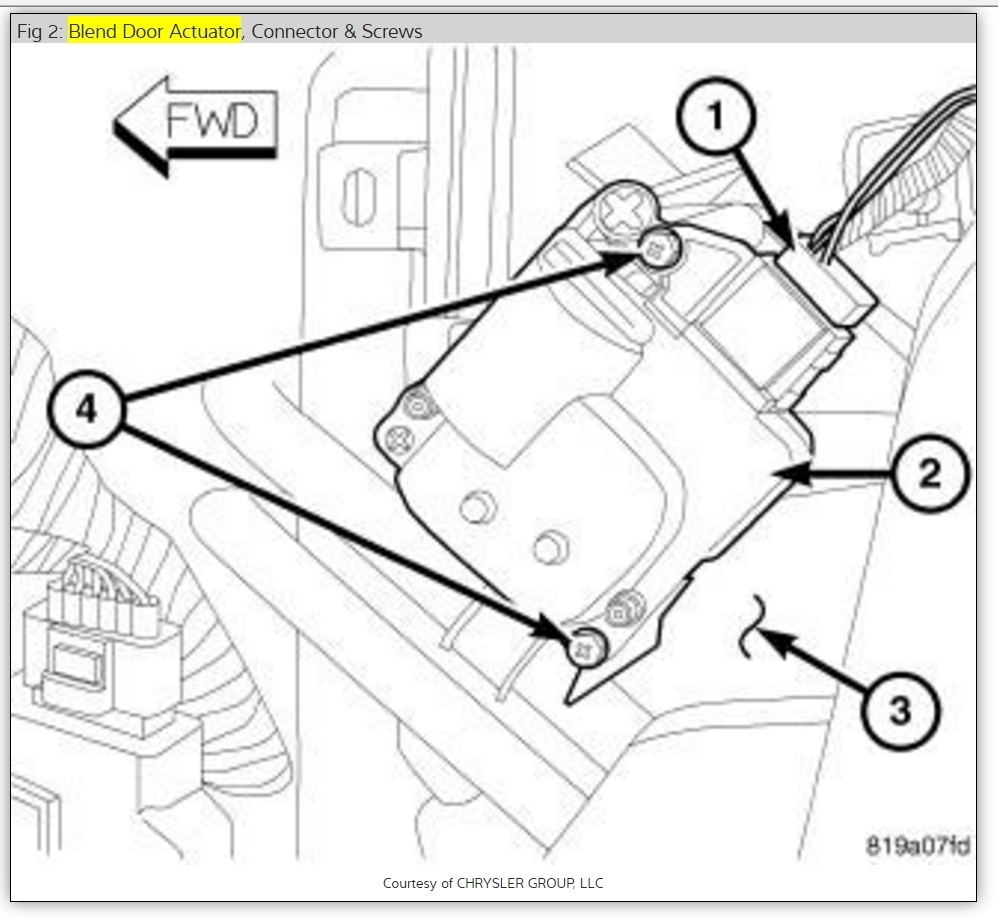Heater Only Blowing Hot Air Out On Driver's Side Vents. Chrysler. Chrysler Sebring Heater Diagram At Scoala.co