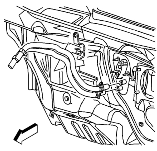 2004 chevy silverado heater hose diagram heater core removal and installation: heater problem 6 cyl ... 2005 chevy silverado heater wiring diagram