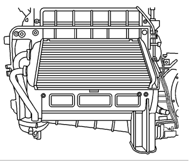 2004 chevy impala hoses diagram heater core removal and installation heater problem 6 cyl 2004 chevy impala starter diagram