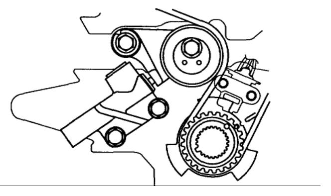 2002 Kia Carnival Timing Belt Diagram  Engine Mechanical Problem