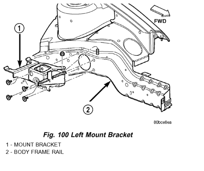 dodge neon engine mounts