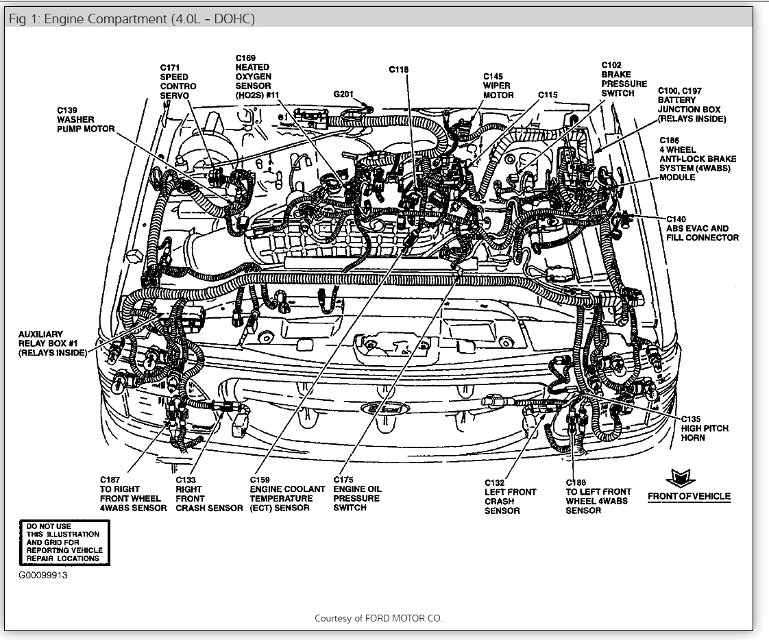 98 Mountaineer Fuse Box Detailed Schematics Diagram 1998 Subaru Forester Mercury I Have No Fuel Going To The Explorer Sport