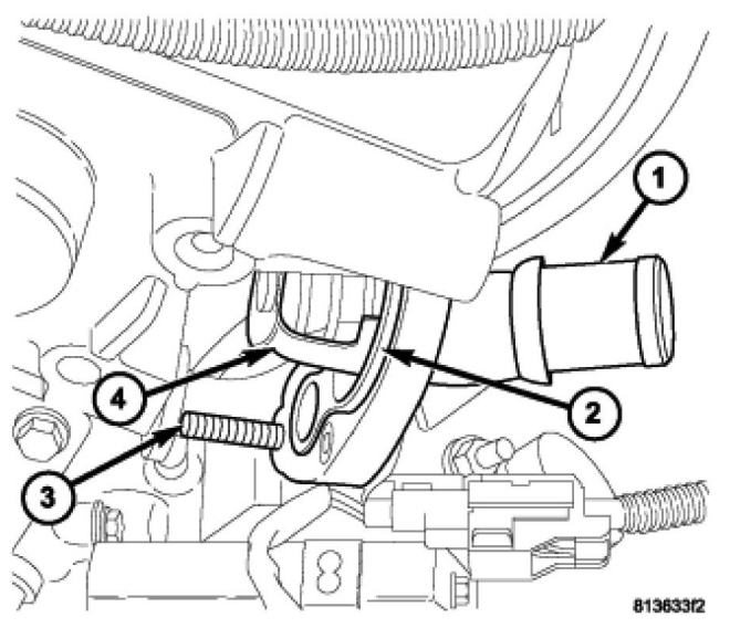 06 Dodge Charger Thermostat Diagram