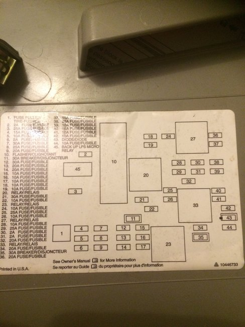 fuse box for 2004 buick rendezvous 34 wiring diagram 2004 Buick Rendezvous Wiring-Diagram 2004 Buick Rendezvous Inside Fuse Box Diagra