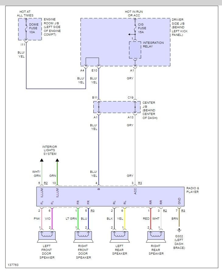 Wiring Diagram For 95 Honda Civic Radio : Honda civic si radio wiring diagram