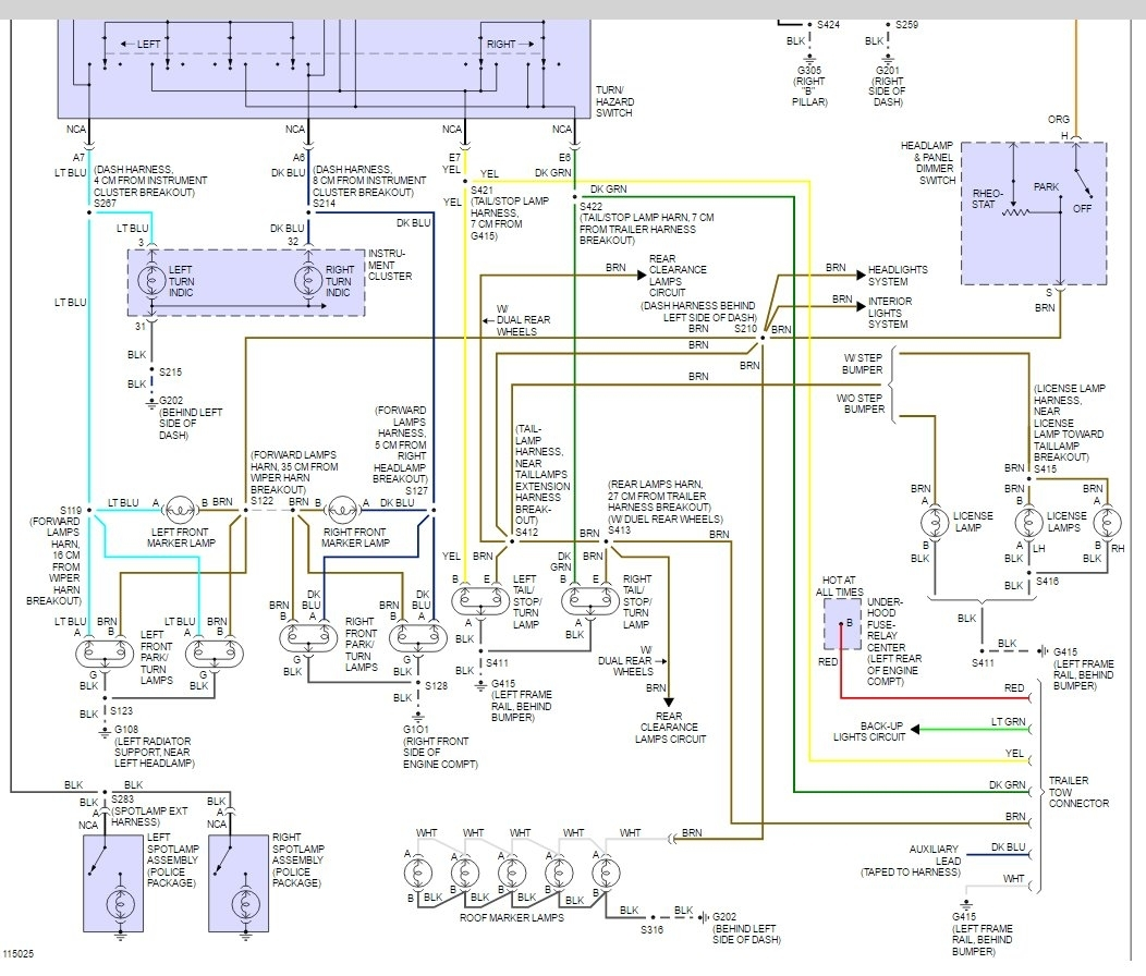 Yukon Tail Light Wiring Diagram Explore On The Net Peugeot 307 Fuse Box 2001 Chevrolet Ke Controller Battery Chevy Gmc