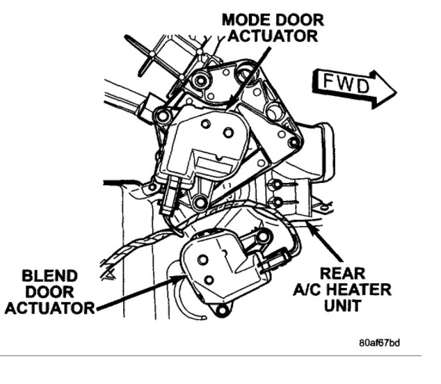 2010 dodge caravan air conditioning diagram