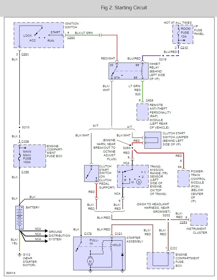original 1997 ford escort starter relay location 1997 ford escort 4 cyl 1999 ford escort zx2 wiring diagram at bayanpartner.co
