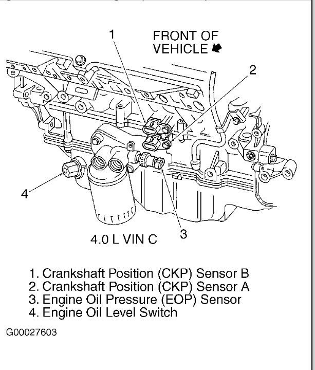 Crankshaft Sensor This Is My Second Aurora And I Never Had This