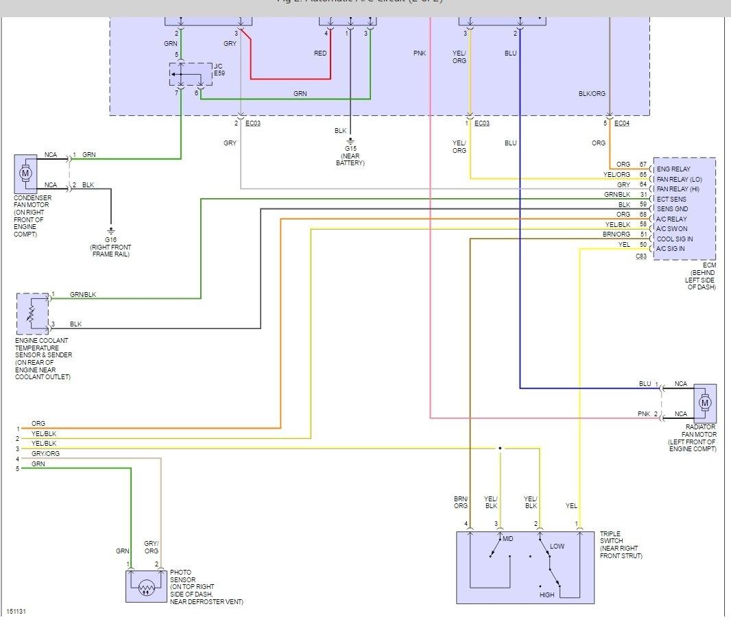 How to Jumper A/C Pressure Switch? Ac Pressure Switch Wiring Diagram on
