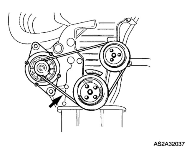 video how to change alternator belt  including removal of