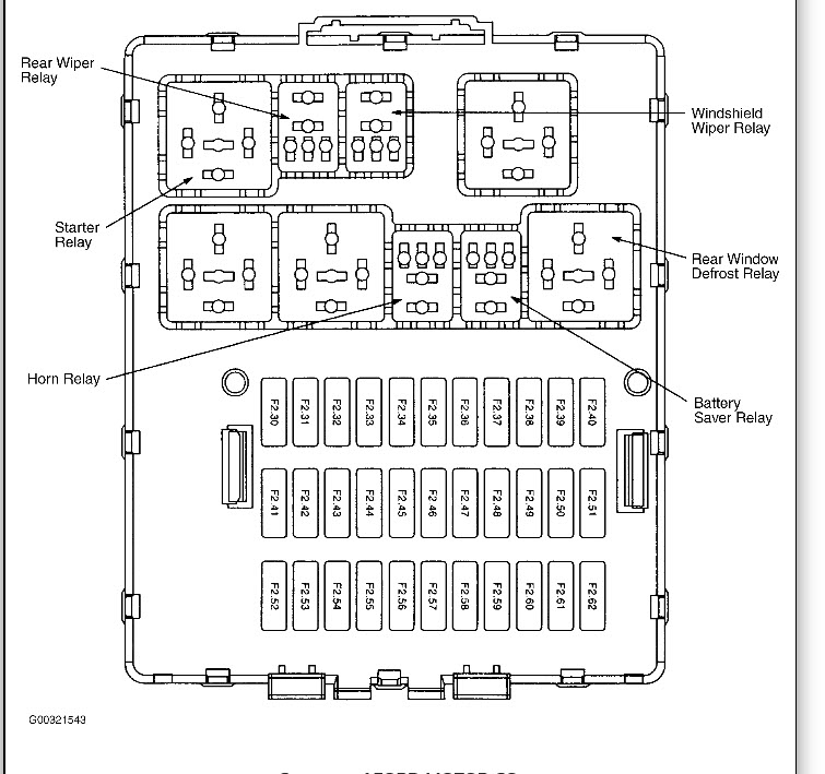 ford focus 2007outer fuse box diagrams   38 wiring diagram