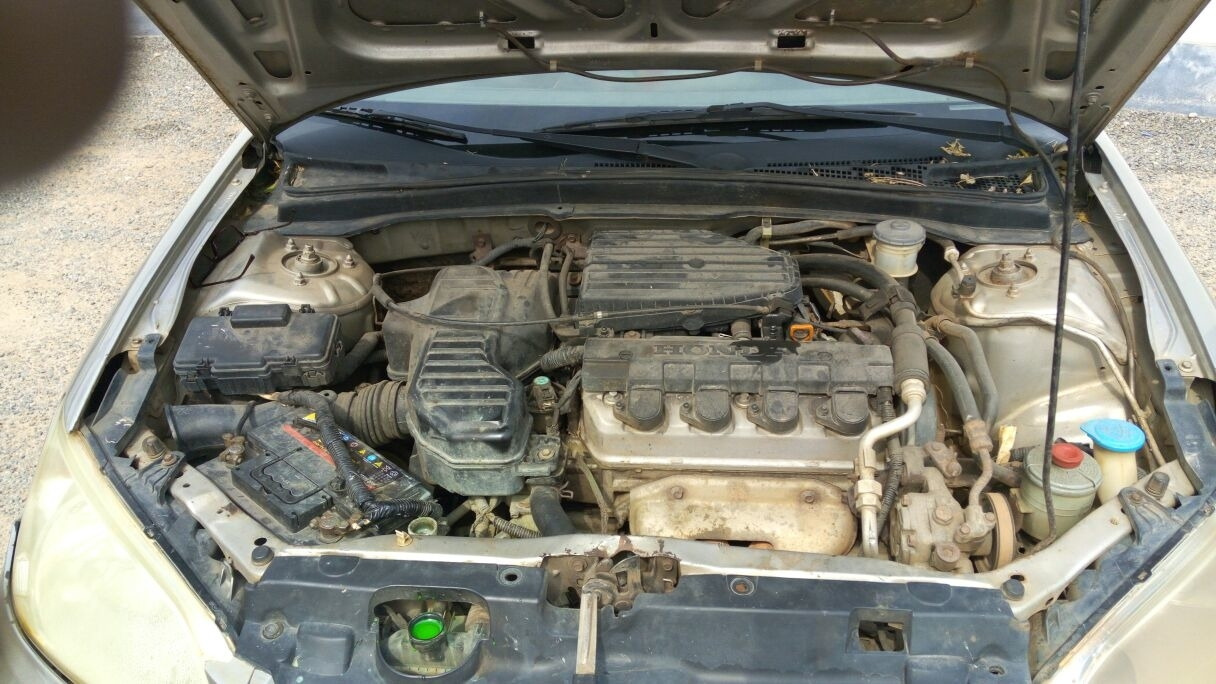 Engine overheating four cylinder front wheel drive for Honda civic overheating