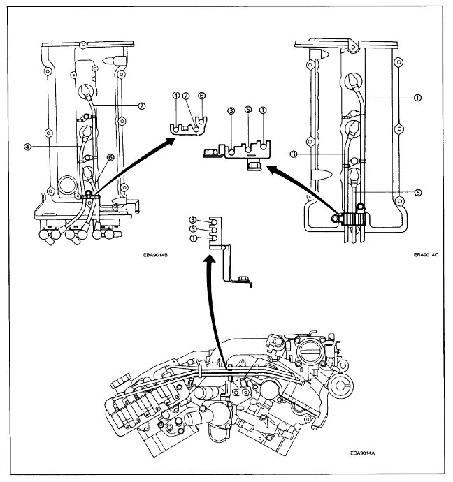 2003 hyundai tiburon firing order  engine mechanical
