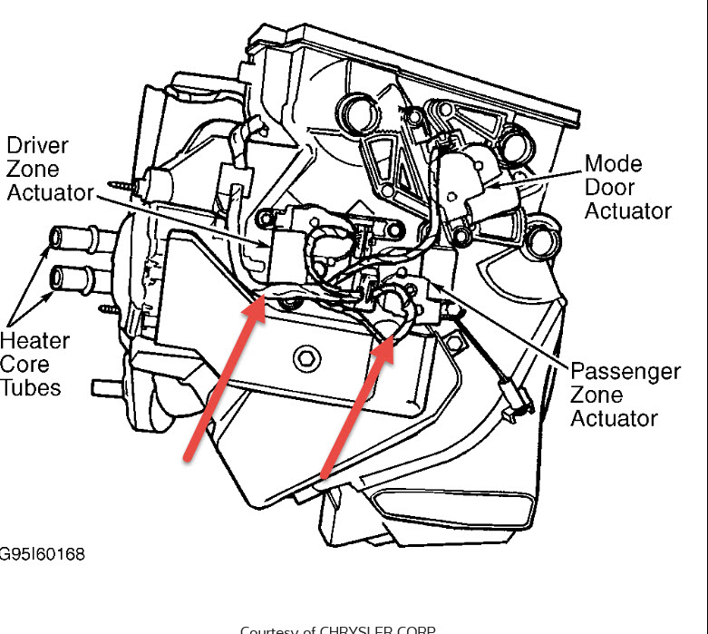 2000 Dodge Caravan Blend Door Wiring Diagram