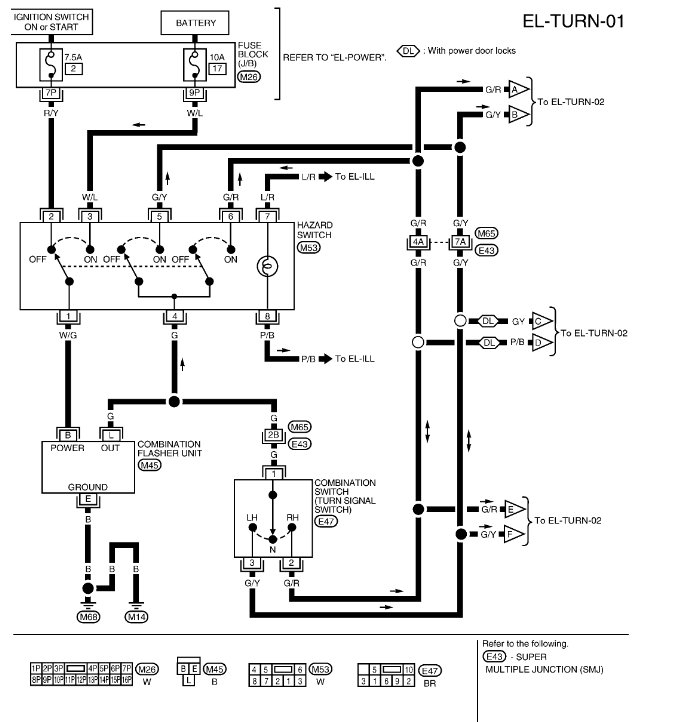 original 2002 nissan xterra wiring diagram 1995 nissan quest wiring diagram  at readyjetset.co