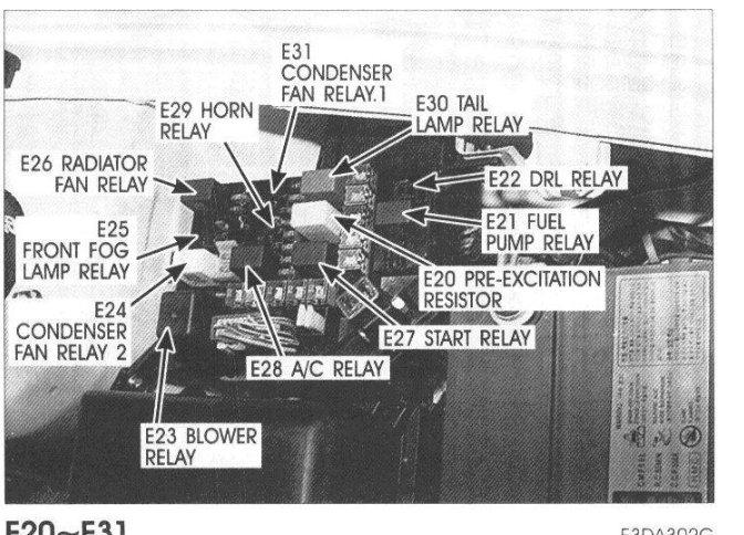 2001 hyundai tiburon fuel pump relay electrical problem. Black Bedroom Furniture Sets. Home Design Ideas