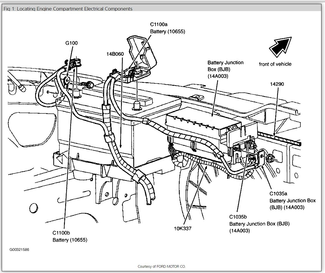 2003 ford taurus se fuse diagram