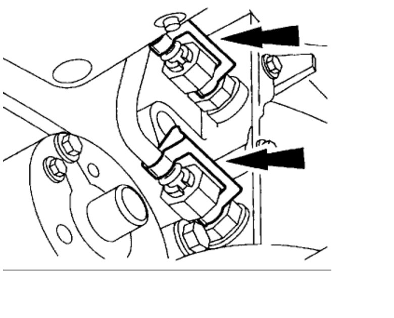 remove the transmission i would like to know how to remove the Lincoln LS Vacuum Lines Diagram thumb