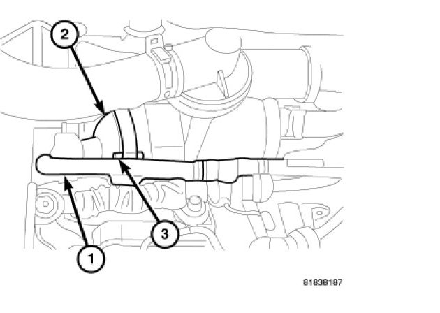 07 Dodge Caliber Thermostat Location
