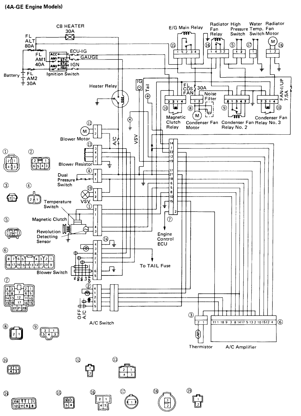 2010 toyota corolla air conditioning diagram