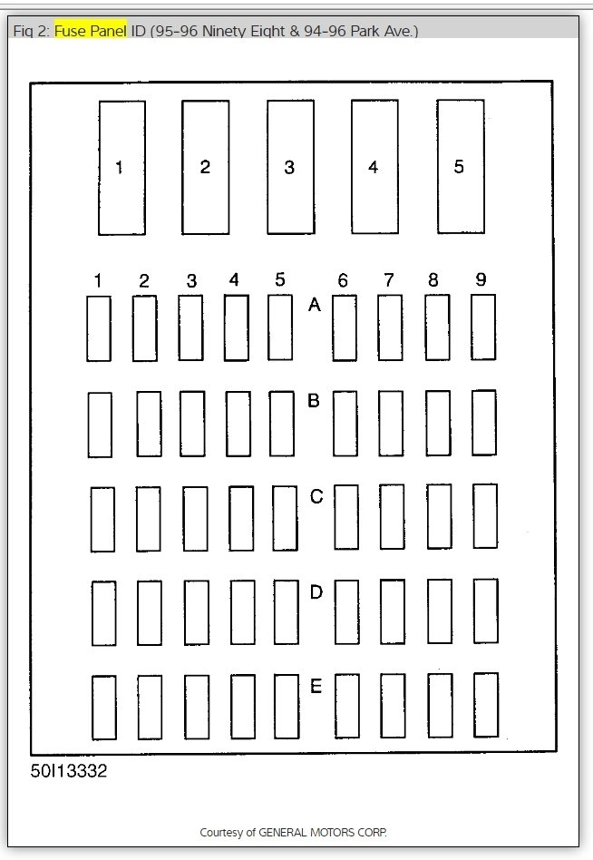 Thumb: 2002 Buick Lesabre Fuse Box Diagram At Executivepassage.co