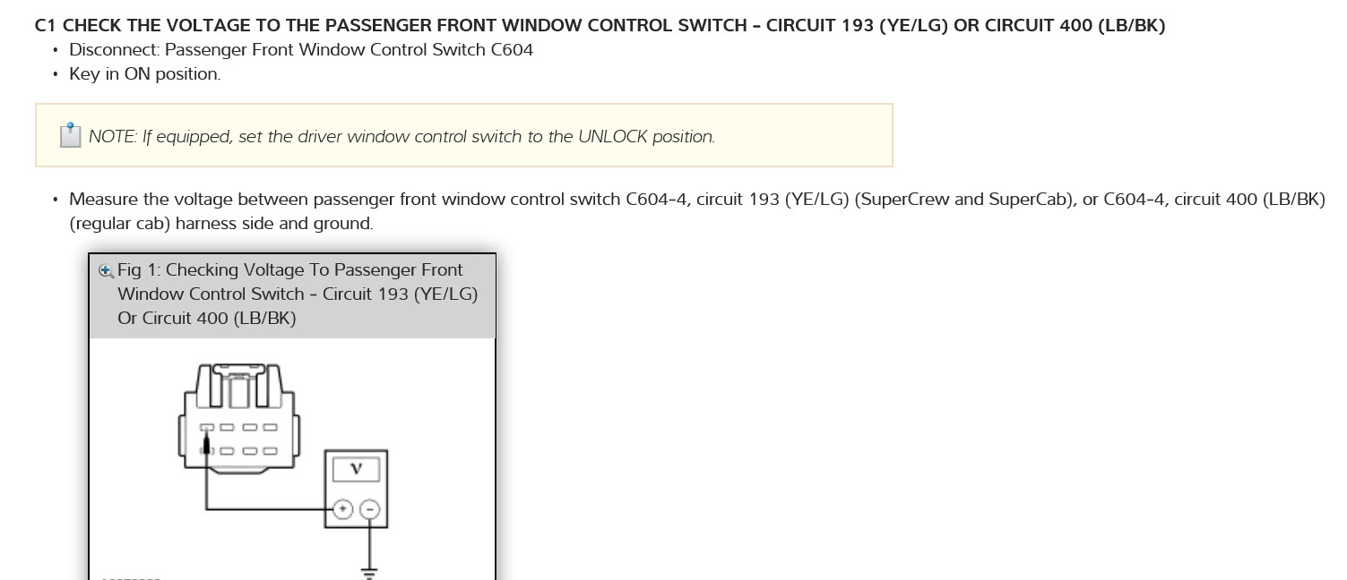 Wiring Diagram For 2005 F150 Power Windows I Have A Supercrew 4x4