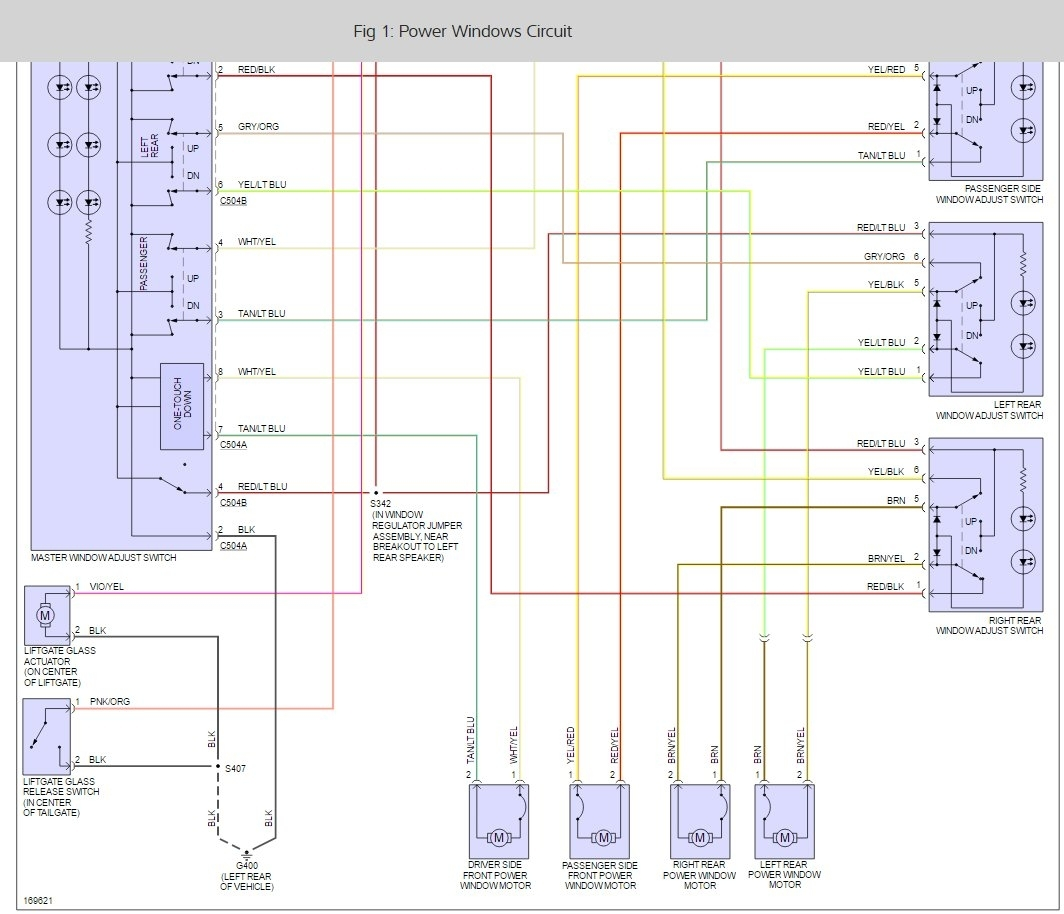 2000 Mercury Cougar Fuse Diagram Wiring Diagram Photos For Help Your