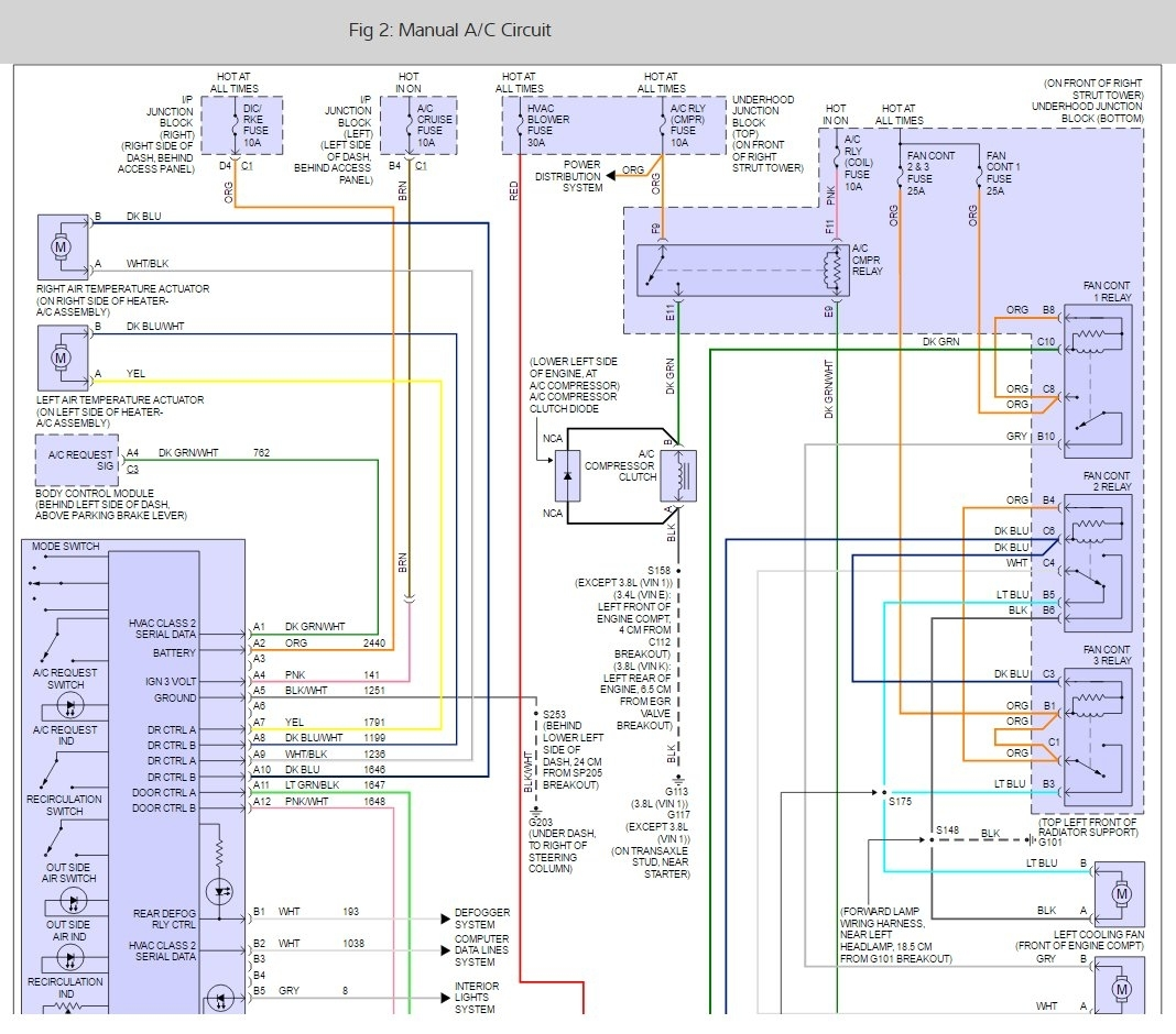 Blower Motor Not Working Electrical Problem 6 Cyl Two Wheel Drive 2010 Impala Air Conditioner Compressor Wiring Diagram Thumb