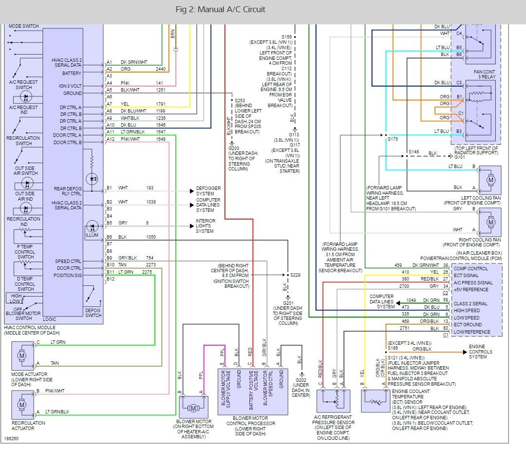 To Coil Wiring Diagram 2003 Impala