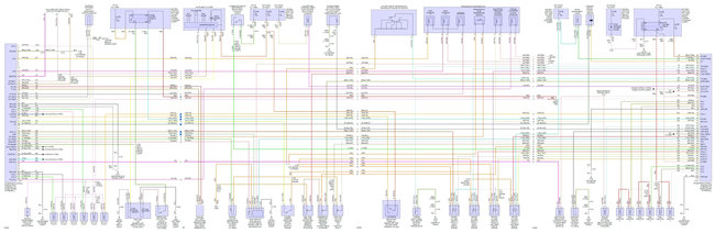 Pcm Pin Out Diagram  Electrical Problem 6 Cyl Two Wheel Drive