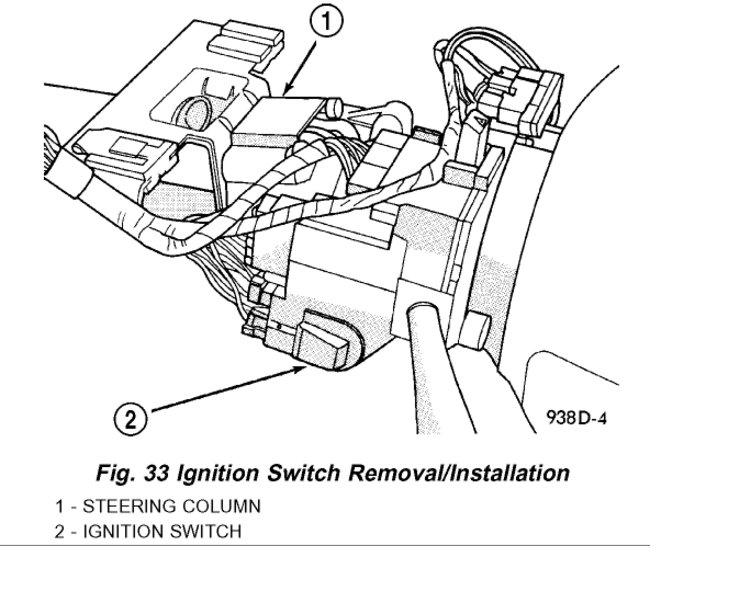 [SCHEMATICS_4HG]  Need Help Video on Removing My Ignition Switch | Dodge Intrepid Steering Column Wiring |  | 2CarPros