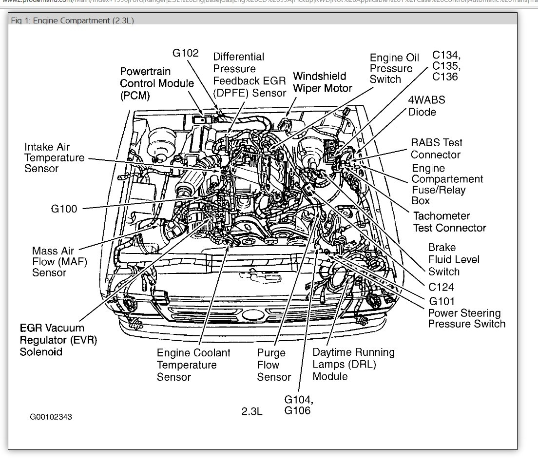87 dodge dakota carburetor diagram