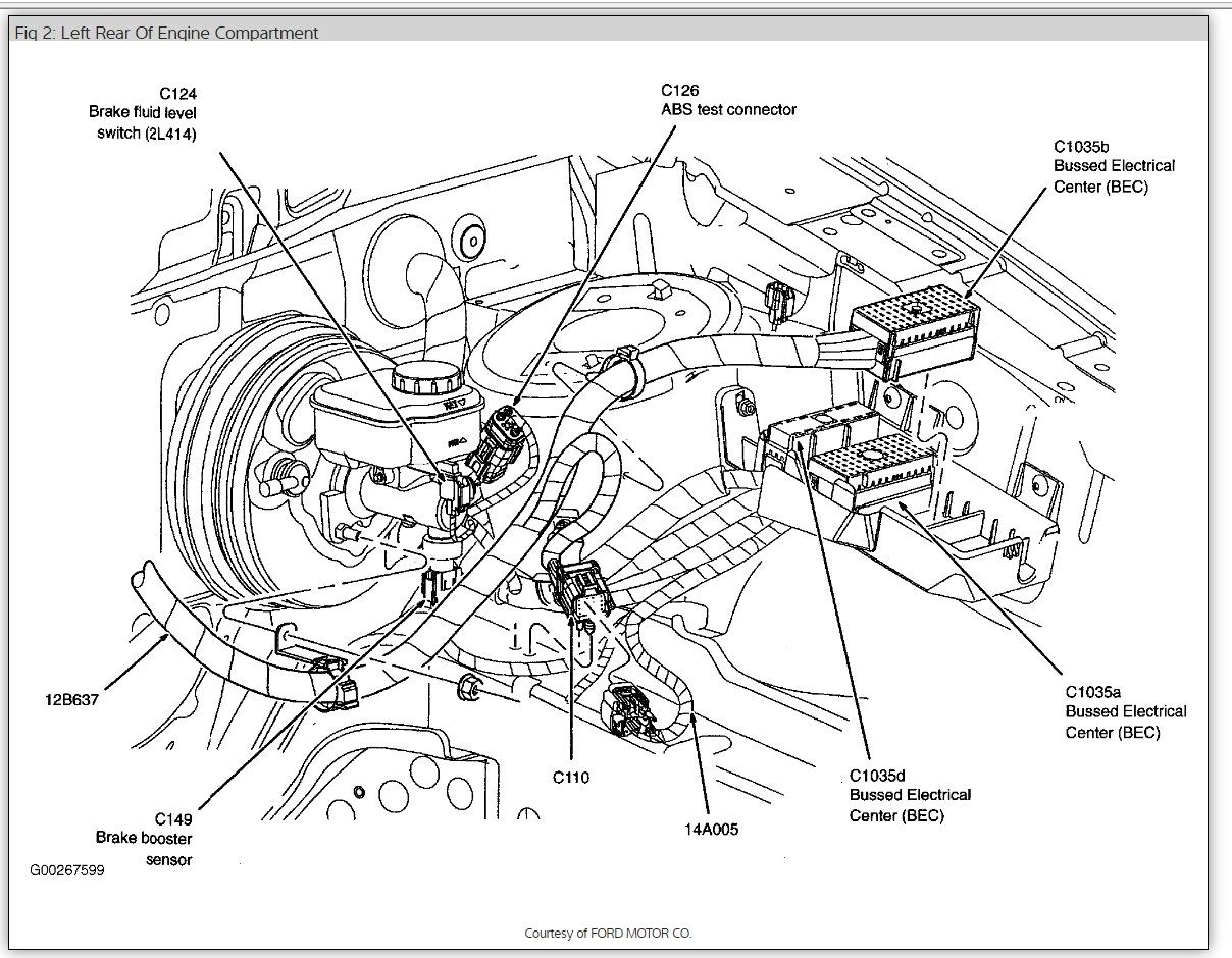 2005 ford freestyle parts diagram door