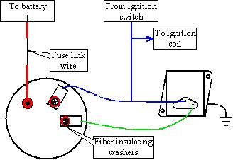 by pass volt reg install old style? Alternator External Regulator Wiring Diagram