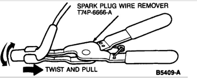 spark plug wires not same as diagram spark plug wire order
