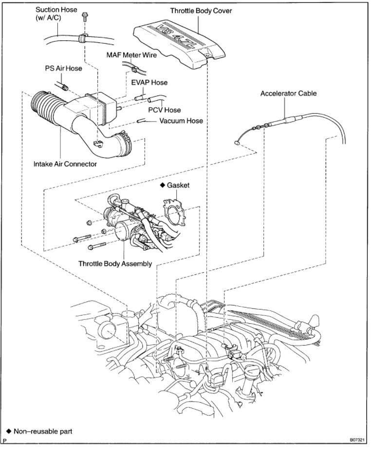 2003 toyota tundra engine partment diagram