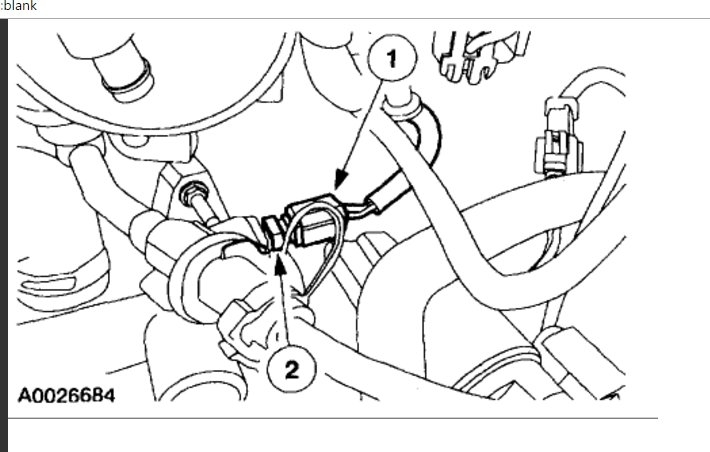 Coolant Temp Sensor Location  Engine Cooling Problem 6 Cyl