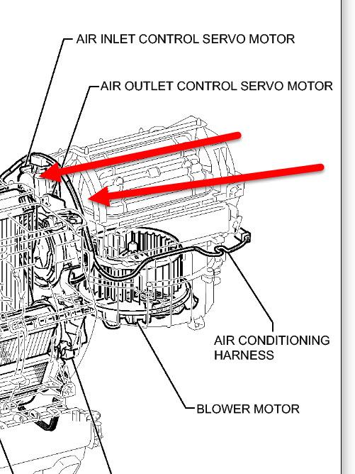 Toyota Sienna Air Conditioner Vent System Diagram Toyota