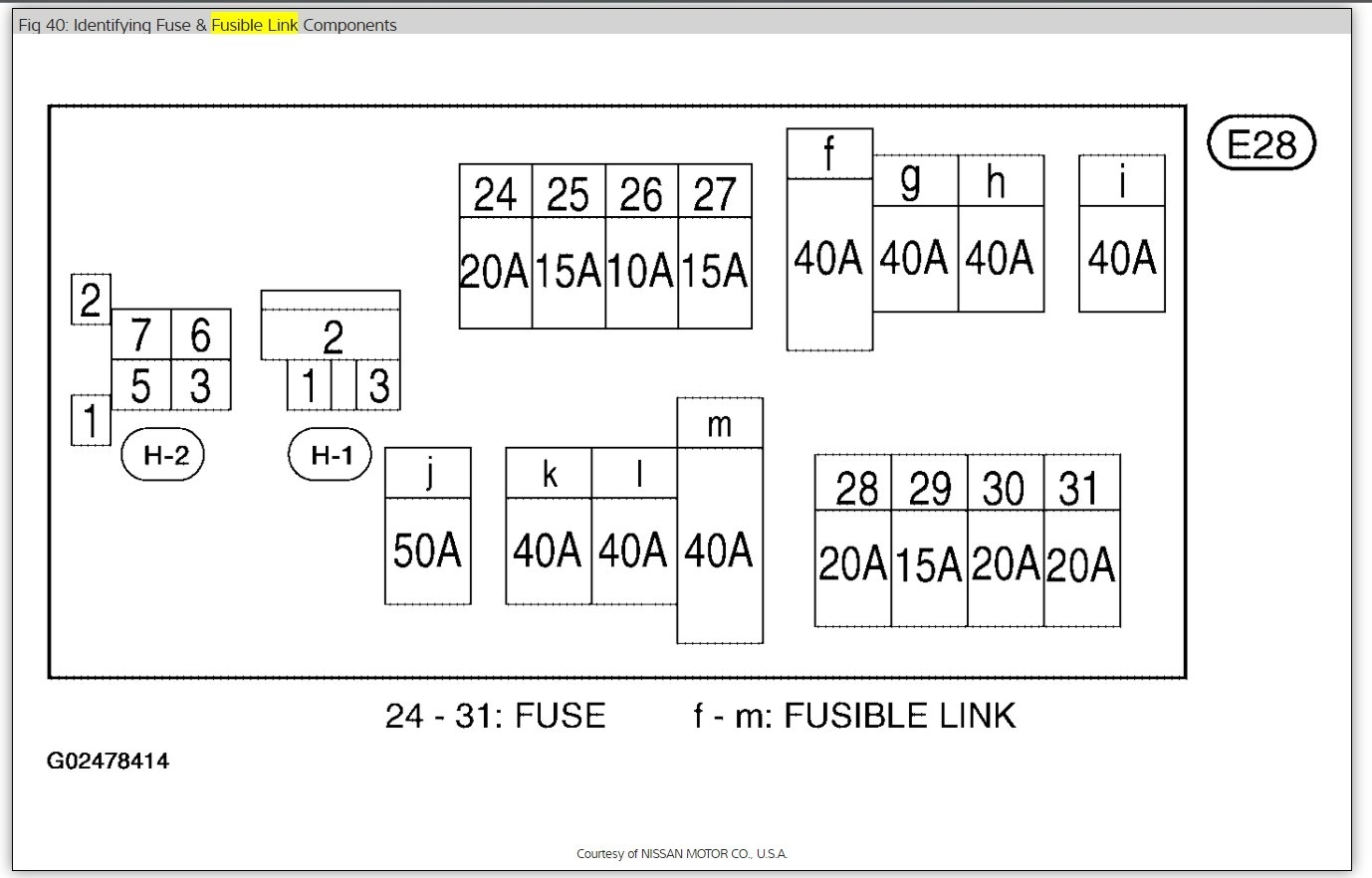 rear wiper fuse location i have a 2005 micra which the